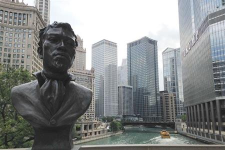 Bust of Jean Baptiste Pointe DuSable