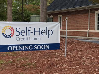 Self-Help CU will open a branch in Raleigh, NC soon.