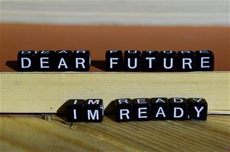 Dear Future I'm Ready graphic