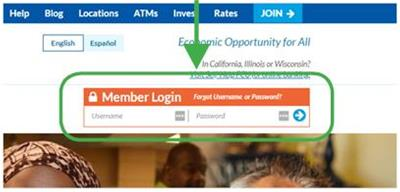 Home Page Online Banking Login Field-CLOSE-UP