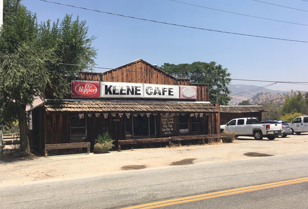 Picture of Keene Cafe building
