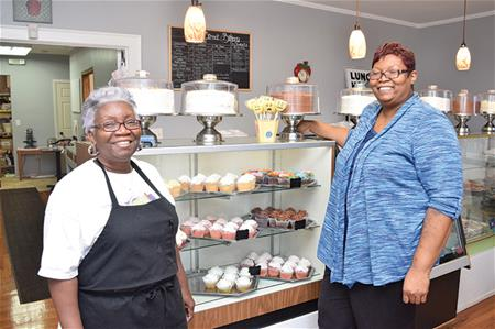Co-owners of the Main Street Bakery & Gift Shop in Columbia, SC