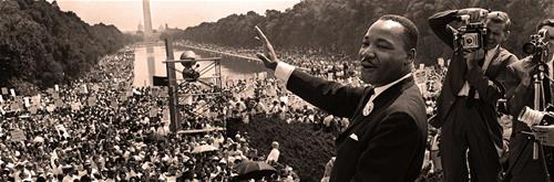 Dr. Martin Luther King, march on Washington