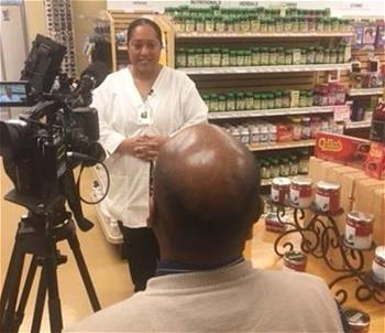 Terencia Russell, co-owner of Russell's Pharmacy & Shoppe