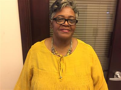 Octavia Alexander, employee of First Legacy Community Credit Union