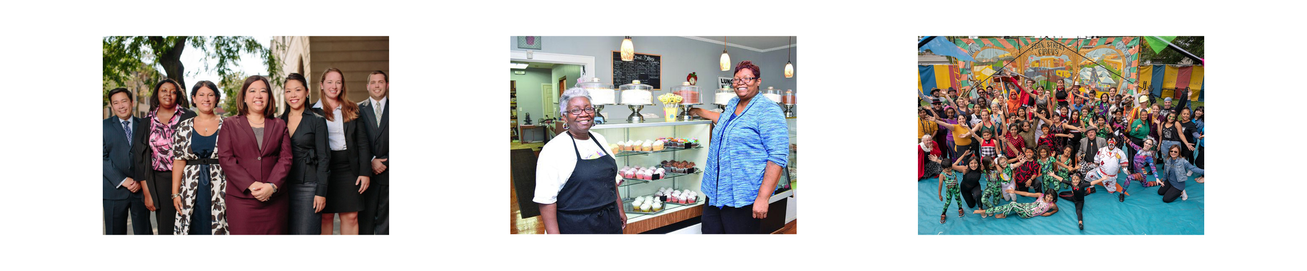 PPP Loan recipient: Anne Shaw Legal Services / PPP Loan recipient: Main Street Bakery & Cafe in Columbia, SC. Photo by Nate Abraham Jr., Carolina Panorama Newspaper / PPP Loan recipient: Fern Street Circus
