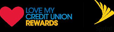 "Sprint ""Love My Credit Union"" logo"