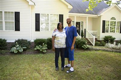 Stacey and Travis Cotton, homeowners