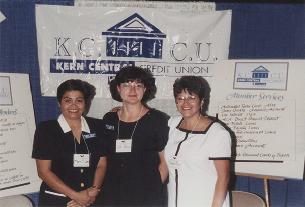 Kern staff at an outreach table