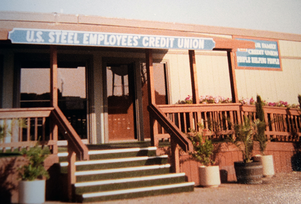 US Steel FCU SIgn